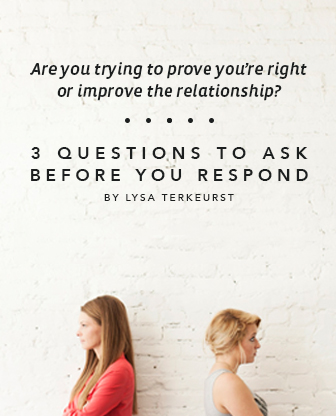 3 Questions to Ask Before You Respond