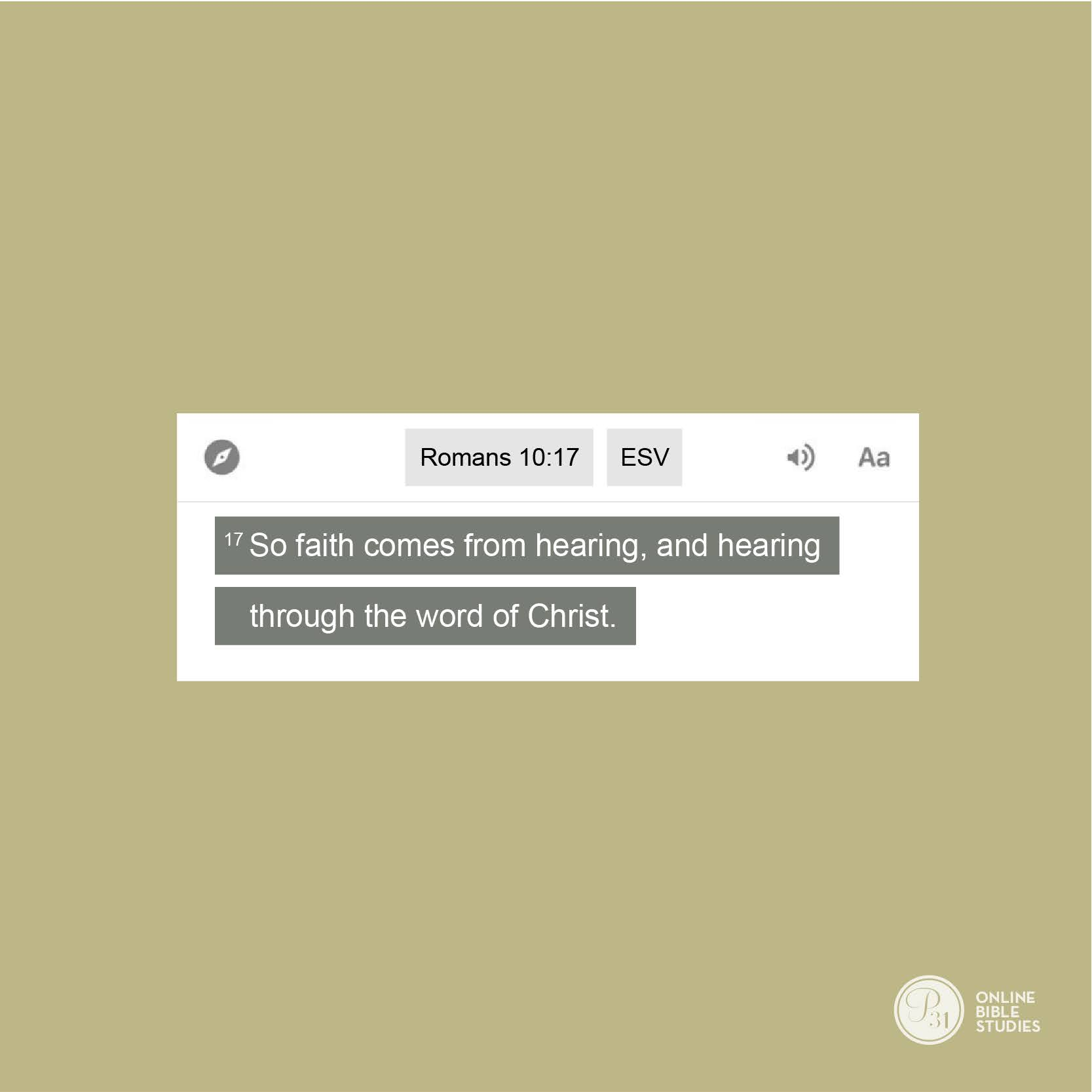 """Flooded"" by Nicki Koziarz | P31 OBS Week 2 Verse"