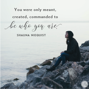 Be Who God Created You To Be