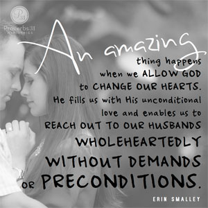 Loving your wife unconditionally