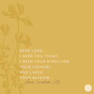 Learning To Lean Hard On Jesus In Me