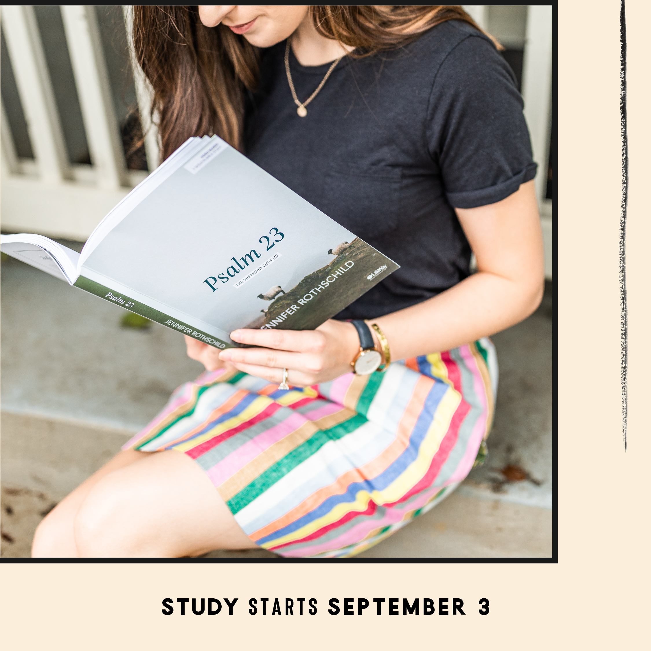 """The next Proverbs 31 Online Bible study is """"Psalm 23"""" by Jennifer Rothschild! Study starts September 3. Learn more and sign up here --> http://www.proverbs31.org/online-bible-studies/  #HiddenJoyBook #P31OBS"""