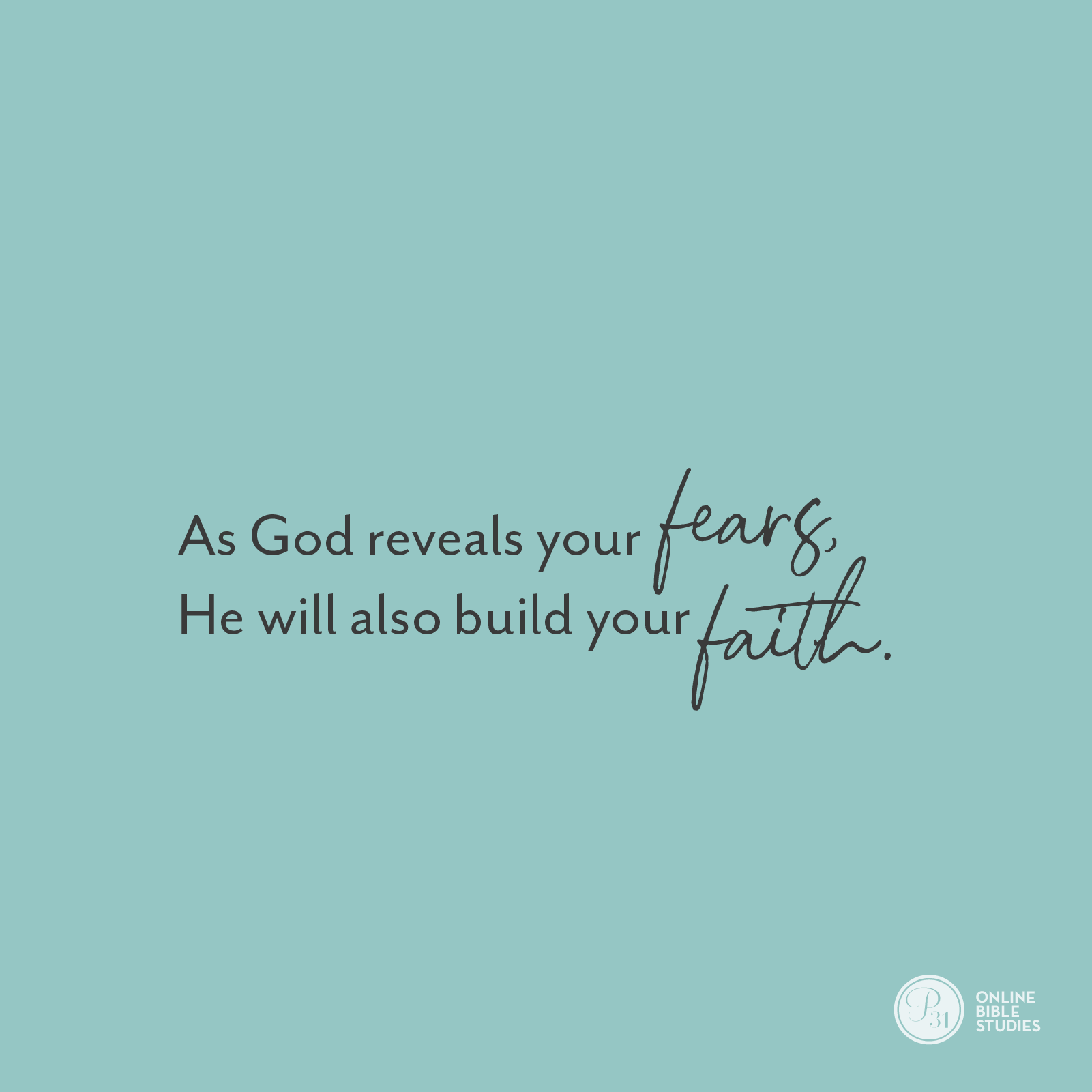"""As God reveals your fears, He will build your faith."" - Craig Groeschel  #DangerousPrayers 