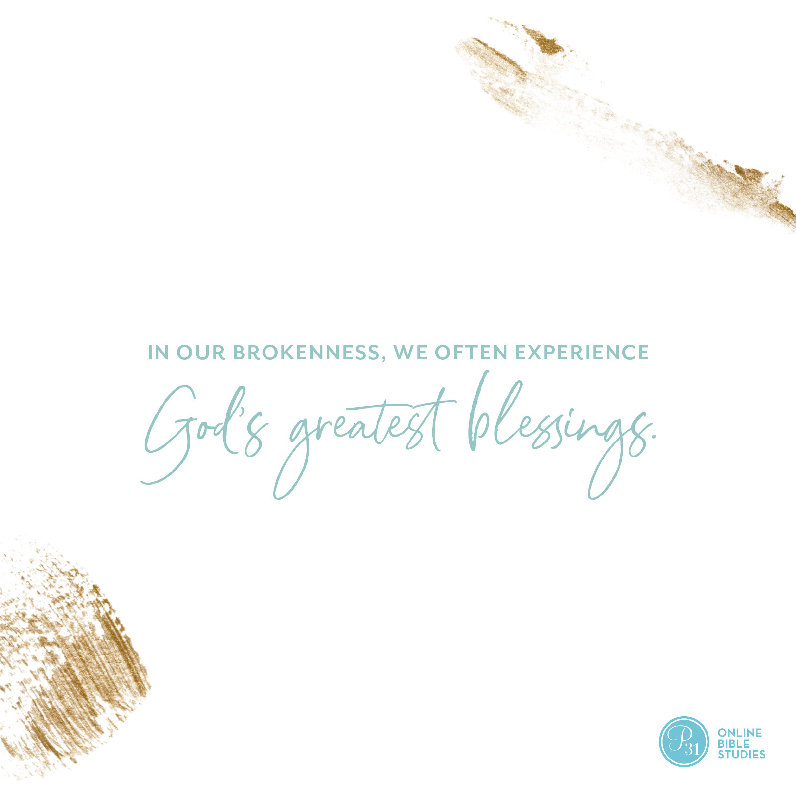 """In our brokenness, we often experience God's greatest blessings."" - Craig Groeschel  #DangerousPrayers 