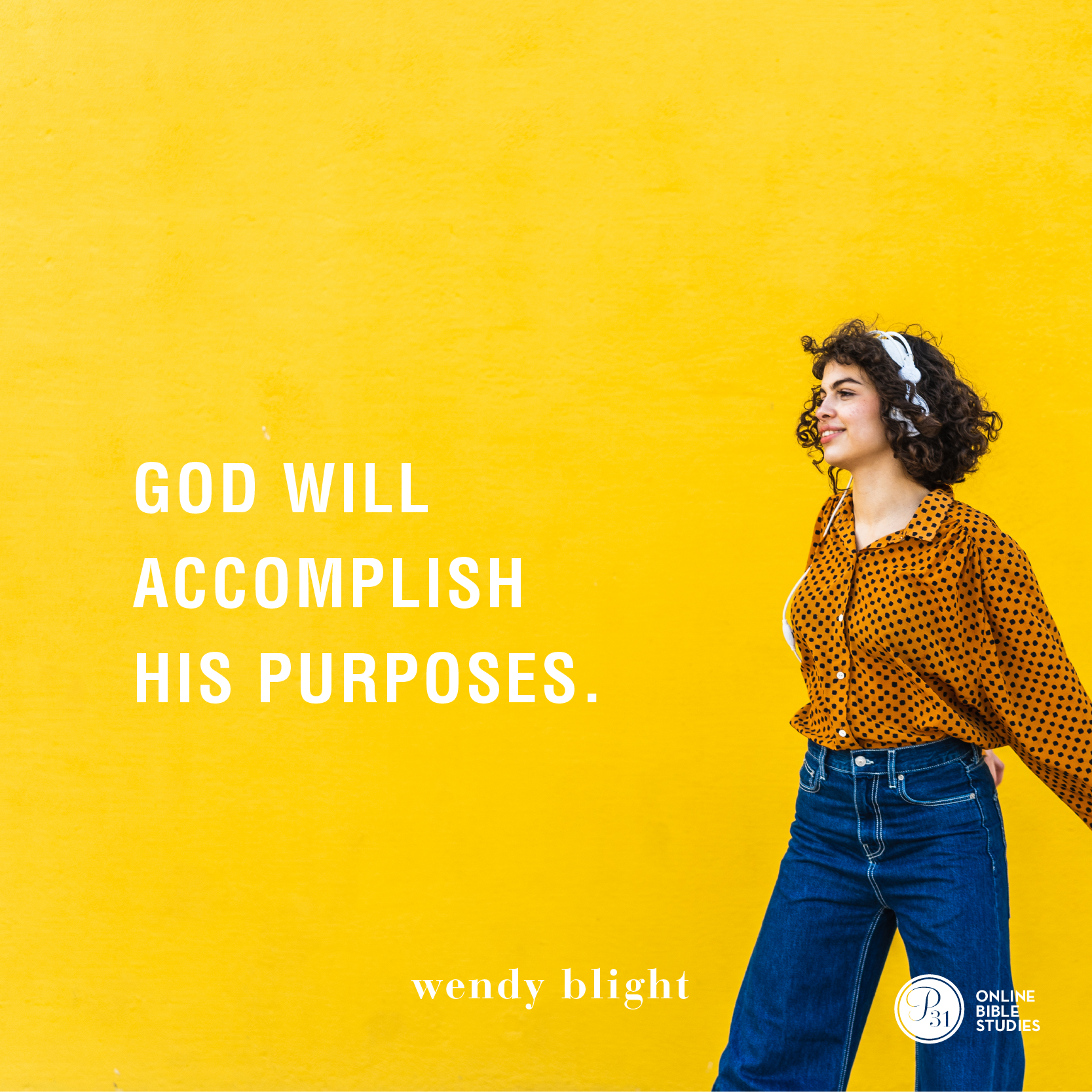 """""""God will accomplish His purposes."""" - Wendy Blight  #HiddenJoyBook   Proverbs 31 Online Bible Studies Week 2 #P31OBS"""