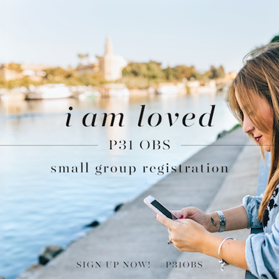 I Am Loved Small Group Registration