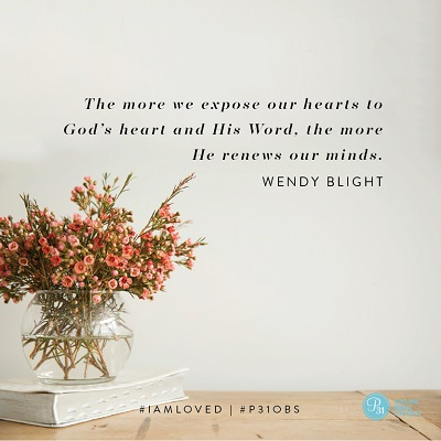"""The more we expose our hearts to God"