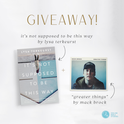 Comment on the blog today and you'll be entered to win this prize! | Proverbs 31 Online Bible Studies | #P31OBS