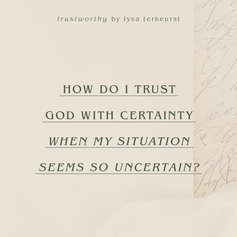 Trustworthy | Proverbs 31 Online Bible Studies