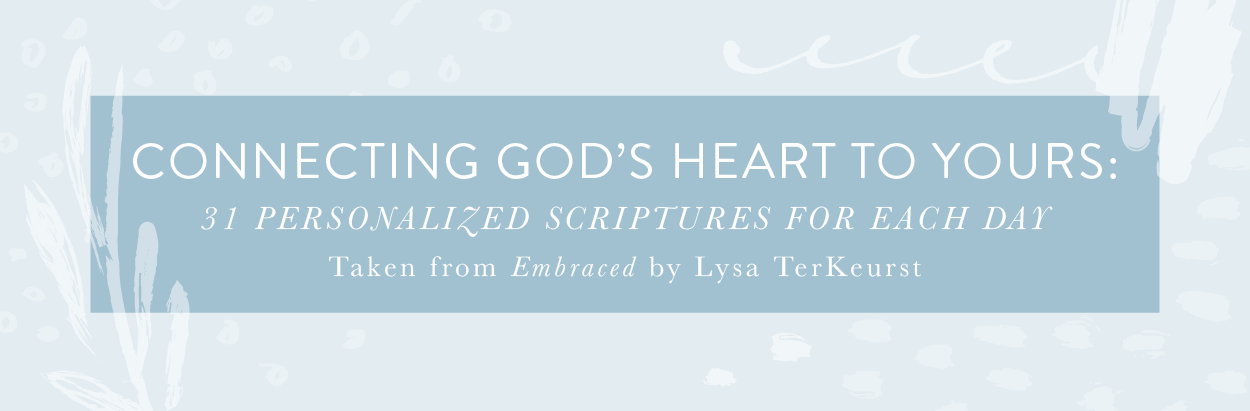 Embraced Printable Scriptures Banner