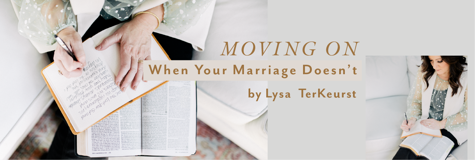 Moving One When Your Marriage Doesn't