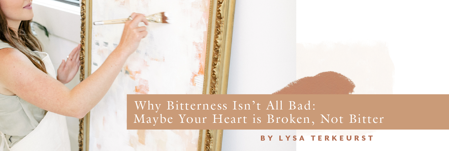 Why Bitterness Isn't All Bad