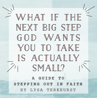 A Guide to Stepping Out in Faith